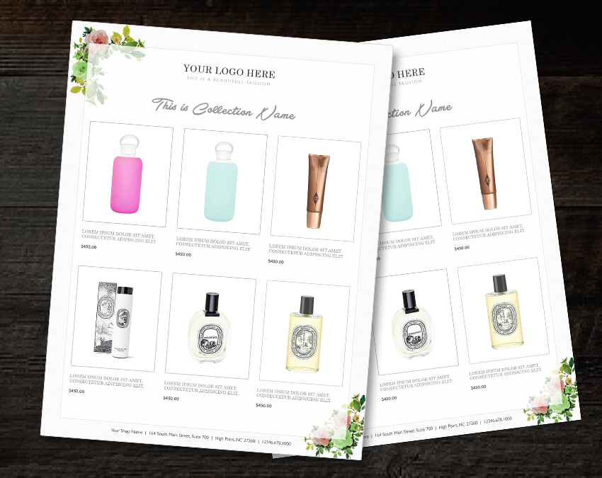 Wholesale Catalog template Product Catalog InDesign Catalogue Custom Product Catalogue