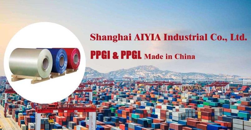 fornitore di acciaio ppgi e ppgl in Cina