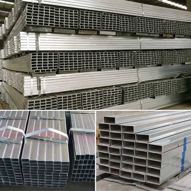 Rectangular Galvanized Steel Pipe/Tube