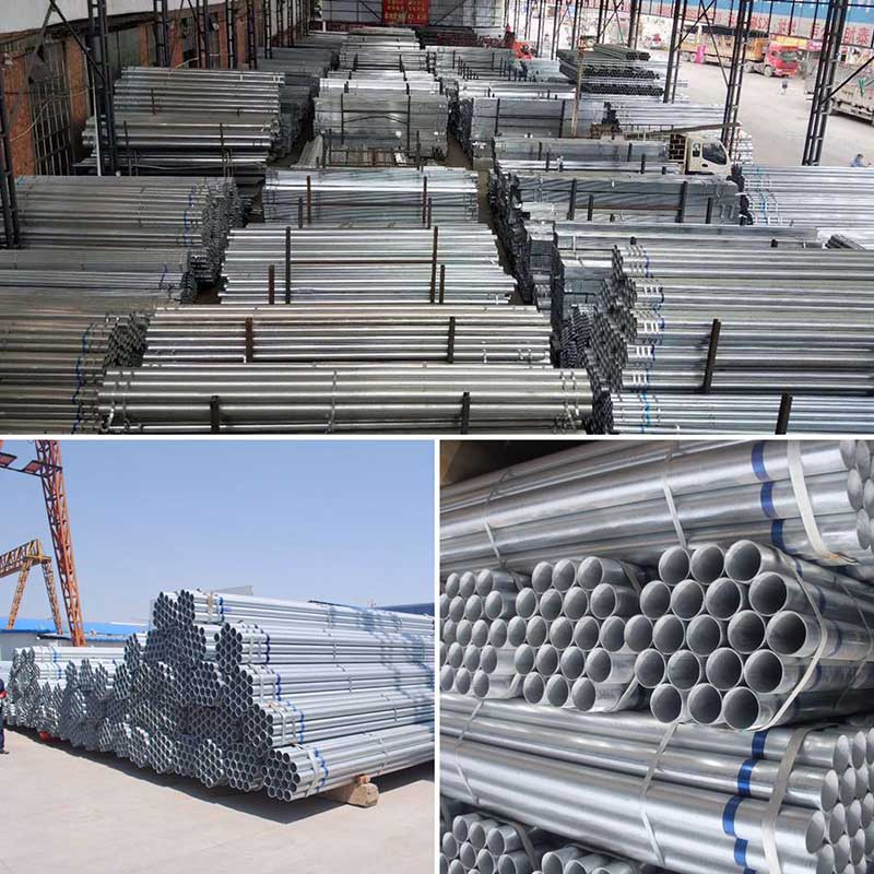 Round Galvanized Steel Pipe/Tube