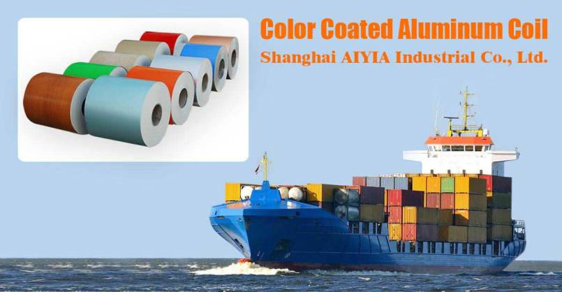 Color Coated Aluminum Coil China