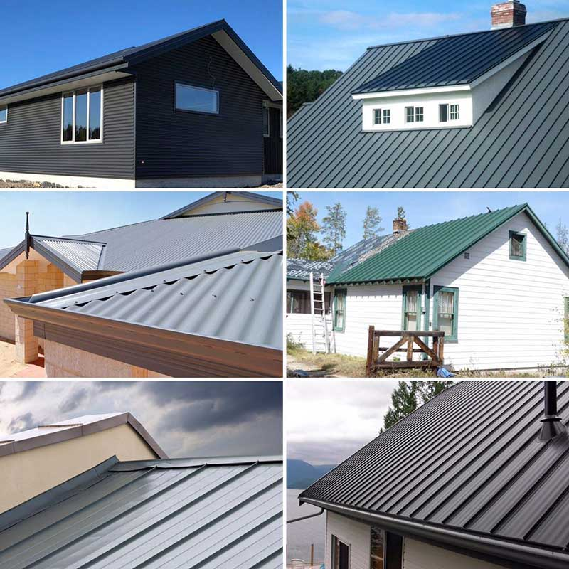 Application of roof sheet