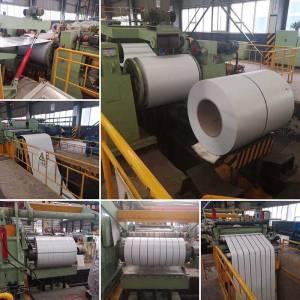 White Prepainted Steel Strip