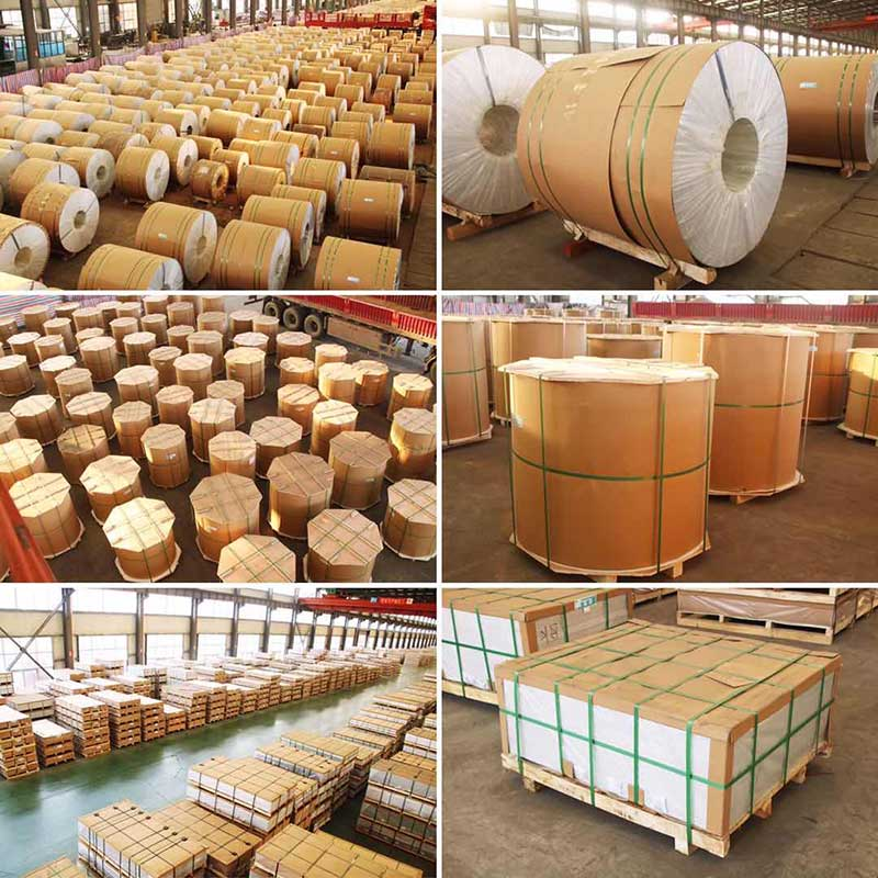 aluminum coil/sheet packaging