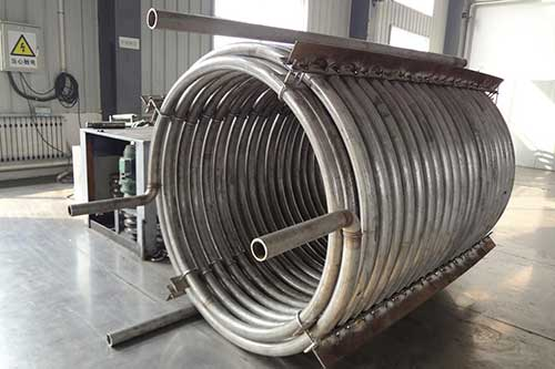 Spiral Stainless Steel Tube