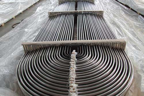 U-shaped stainless Steel Tube