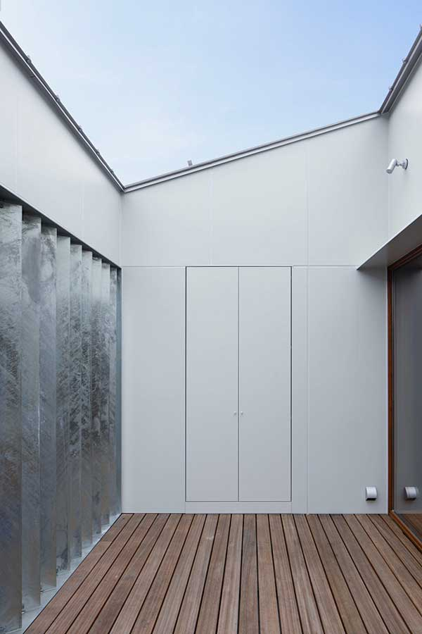 Duplex house made of galvanized steel panel 03