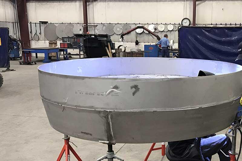 Stainless steel marine scrubber 01