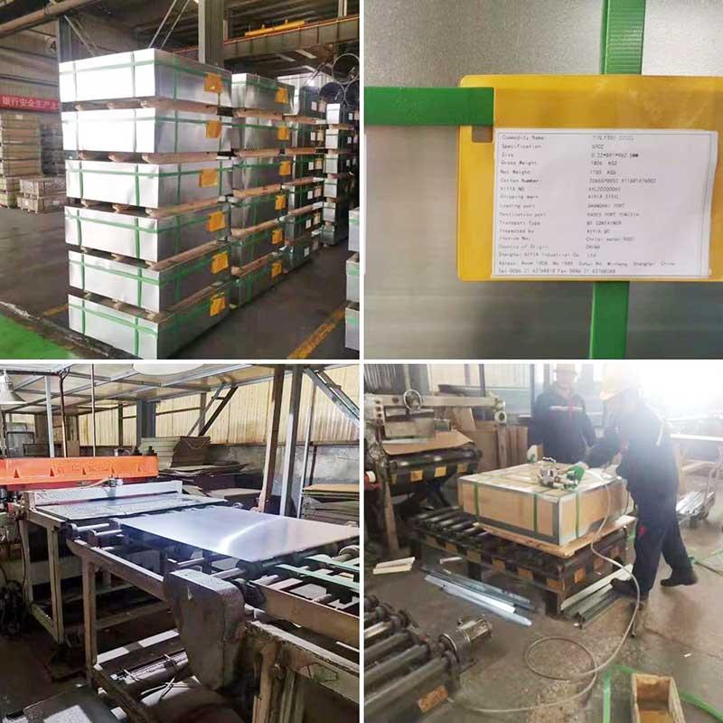 tin free steel exported to Tunisia