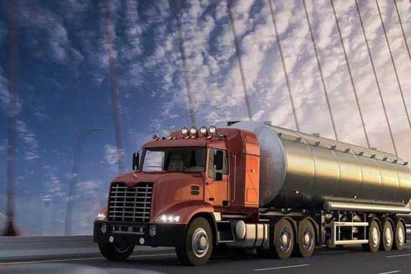 La placa de aluminio se utiliza para la fabricación de cisternas de líquidos.