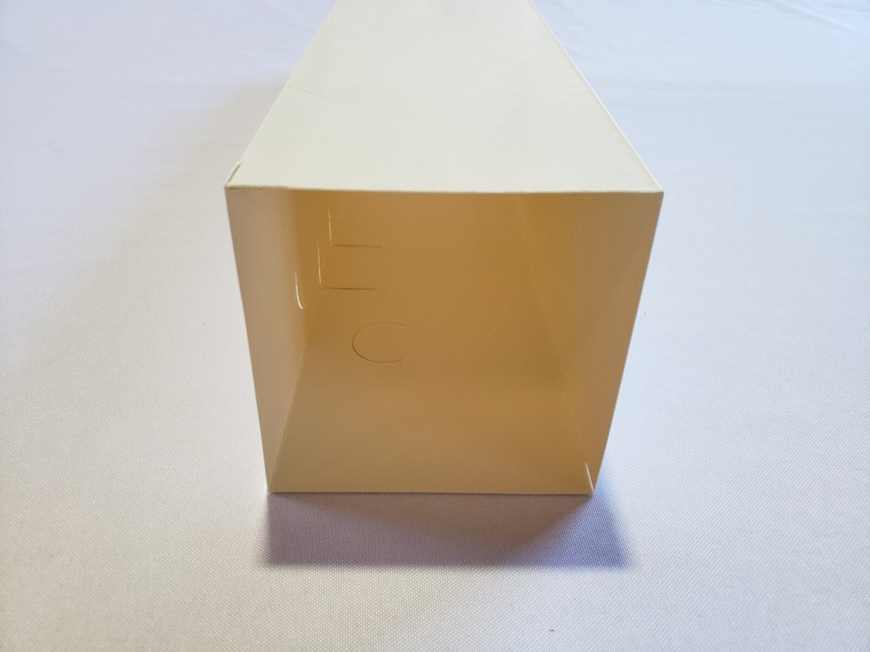 20? V-Top Milk Carton Profile View
