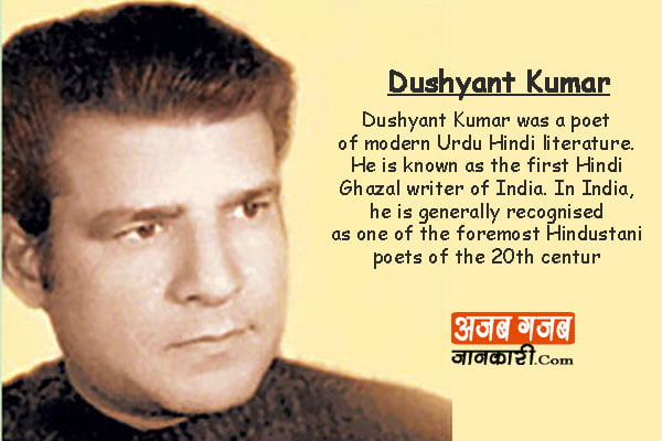 Dushyant-Kumar-Biography-in-hindi