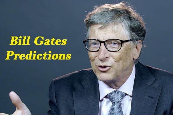 bill gates predictions
