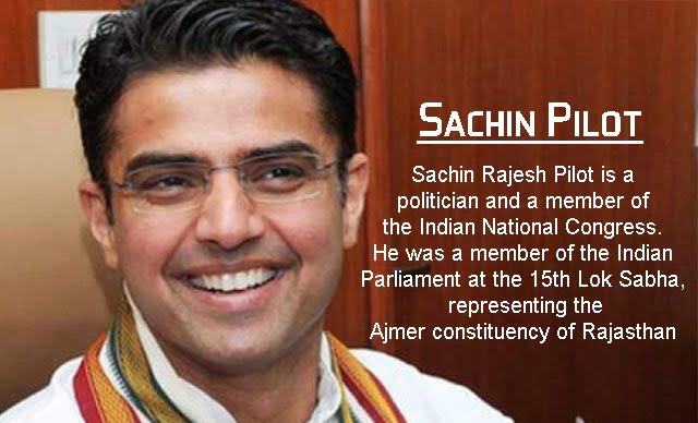 Sachin pilot biography in hindi