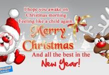 Merry christmas and new year shayari in hindi