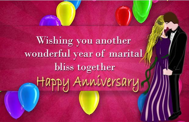 wedding anniversary wishes for best friend