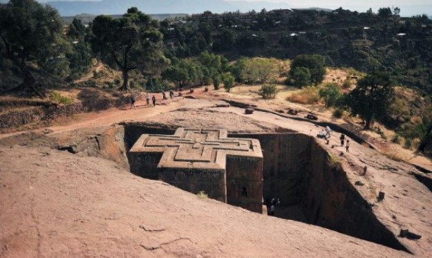 Rock-Hewn Churches of Lalibela, Ethiopia