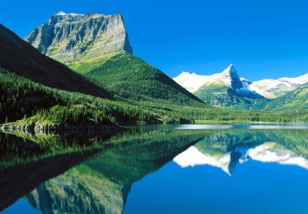 Taman Nasional Gletser di Montana