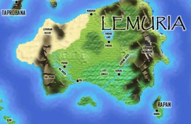 Lemuria adalah peradaban yang mirip dengan kisah mitologi/dongeng seperti Troy dan Atlantis