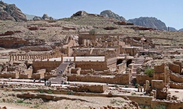 Peradaban kota Petra pernah hilang selama 500-600 tahun