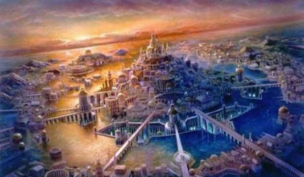 Benua Atlantis Tenggelam