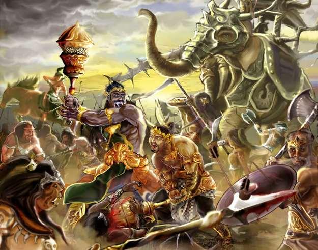 Bharata Yudha dianggap keramat di Jawa