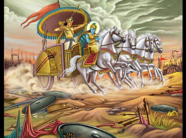 Perang Bharatayudha adalah semacam perang NUKLIR!!