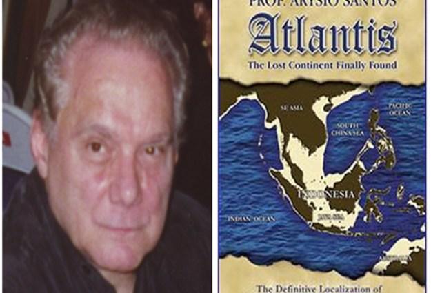 Santos mengatakan jika Atlantis dan Taman Firdaus adalah sama