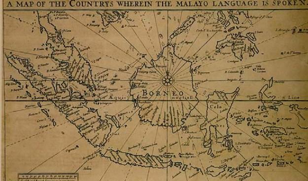 Peta Kuno yang menyebutkan Nusantara sebagai KUTUB SELATAN Bumi