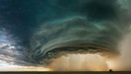 Hujan terderas hanya dalam 1 menit di Maryland, AS