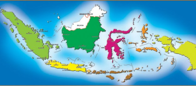 Asal Muasal Nama Pulau Besar di Indonesia