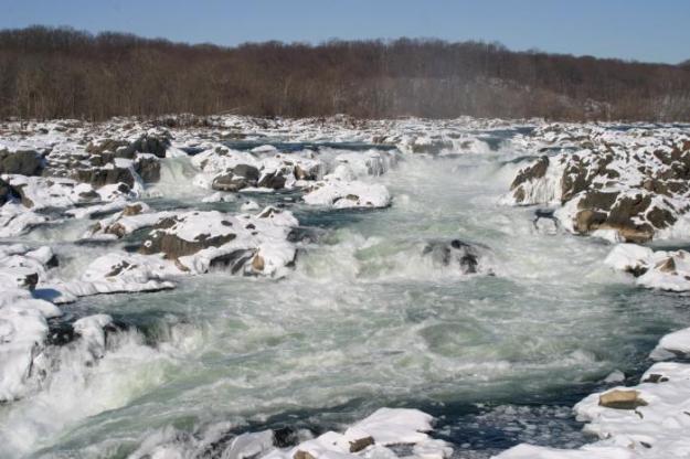 Sungai Potomac di Washington DC, Amerika Serikat