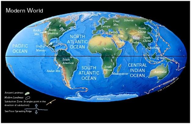 Bumi saat ini
