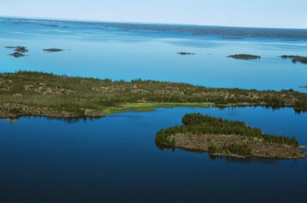 Danau Great Slave ( Kanada ) Kedalaman 614 Meter