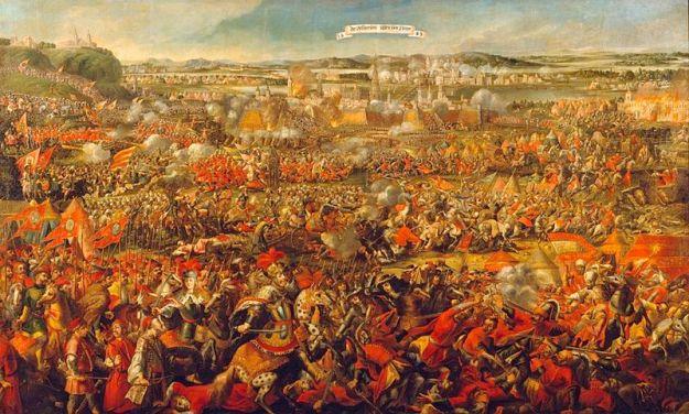 Ilustrasi peperangan di masa turki usmaniyah