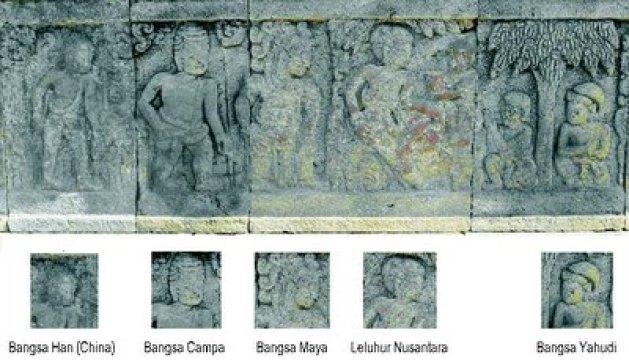 Relief Candi Cetho dan Candi Penataran Adalah Informasi Tentang Kekhalifahan Nusantara