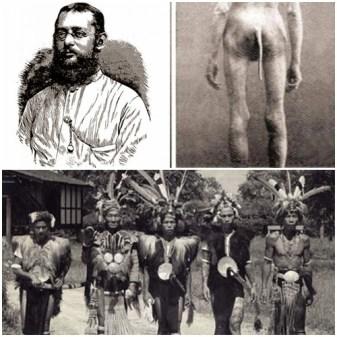 """""""Orang Boentoet"""" Suku Berekor di Kalimantan"""