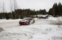 #16 Jussi Vainionpää / Mitsubishi Lancer Evo 9. Pohjanmaa-ralli, EK4.