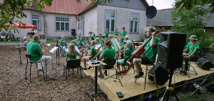 Lihula MKK orkester. Foto: Ain Saare