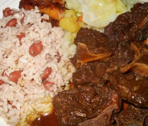 Oxtail Rice & peas