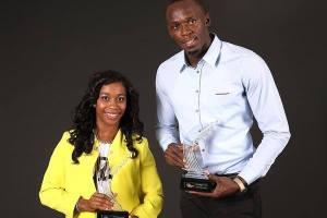 Usain Bolt and Shelly-Ann Fraser-Pryce