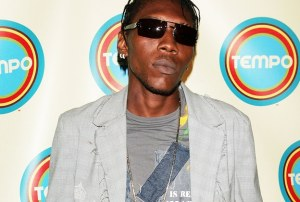 Vybz Kartel at Award