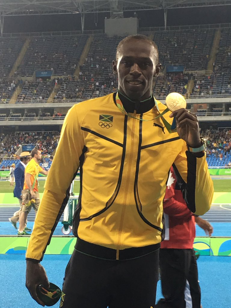 Usain Bolt 100m Victory in Rio