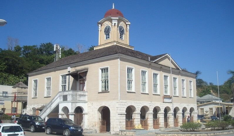 Old Lucea Courthouse