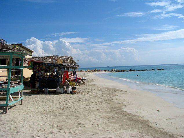Hellshire Beach near Kingston, Jamaica