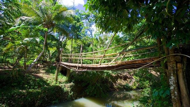 bridge over Mayfield River, Jamaica