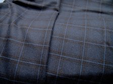The perfect medium weight Italian wool check!