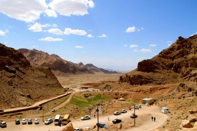It is customary for Zoroastrian pilgrims today to make the trek up the mountain on foot. However, it is possible to drive most of the way and walk up the stairs the rest of the way.