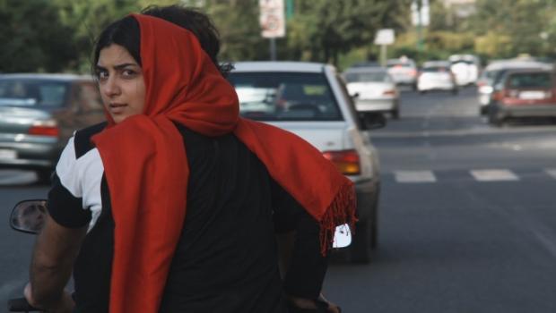 Nasrine in Tehran.