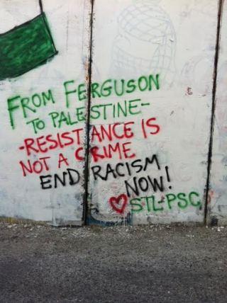 PSC in Palestine Ferguson